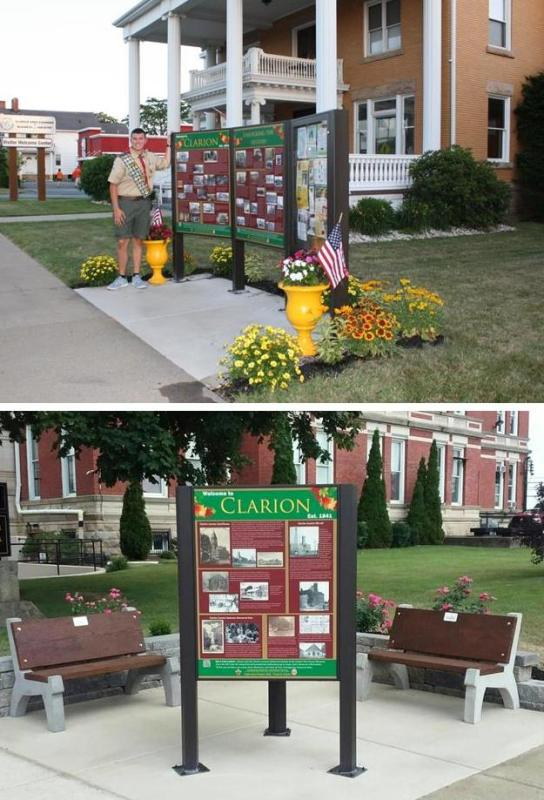 Research, Design & Installation of Two Historical Interpretive Panels