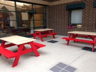 Ephesus Atrium Picnic Tables