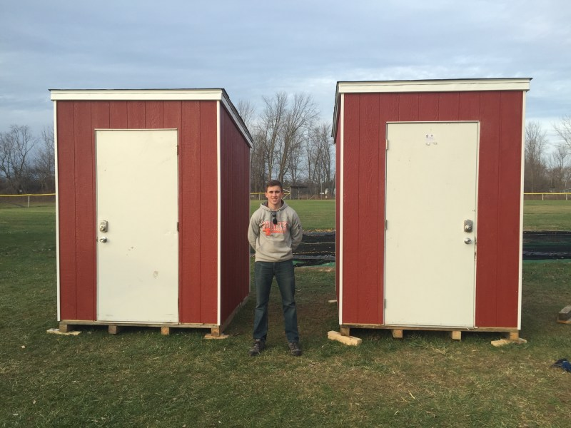 Equipment Sheds for Little League