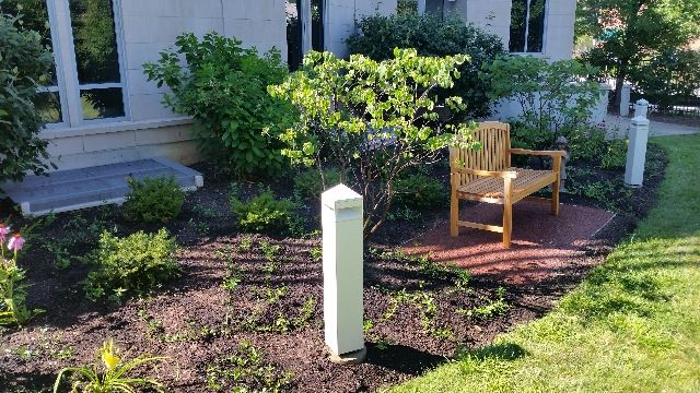 Joseph And His Helpers Landscaped A Large Garden Area Behind The Parish  Center At Sacred Heart Parish In Winnetka, Ill. They Created A Beautiful  Prayer ...