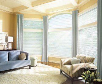 With Window Treatments