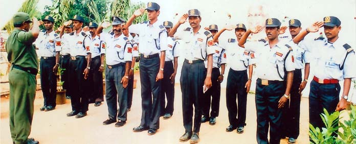 Private Security Guard Salary India