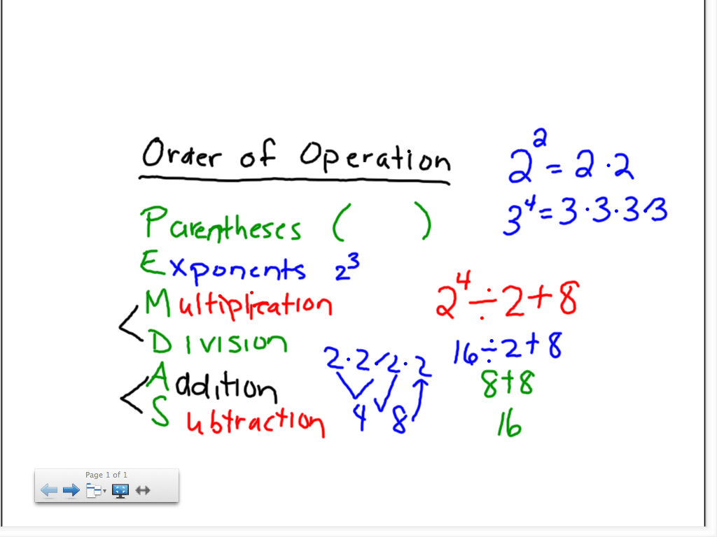 Search Results For Order Of Operations 7th Grade