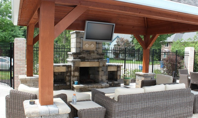 Design Ideas for Your Outdoor Living Space | Eagleson ... on Garden Living Space id=22393