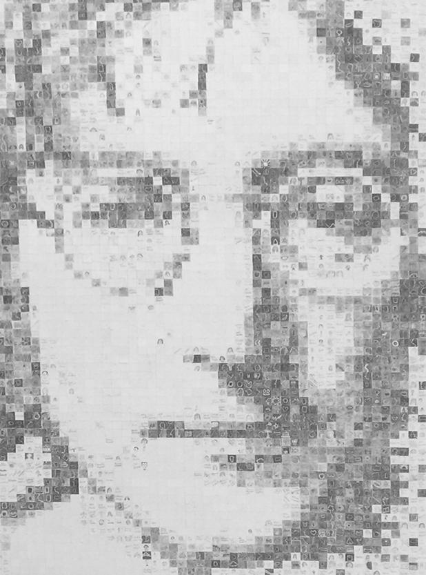 john lennon mosaic art