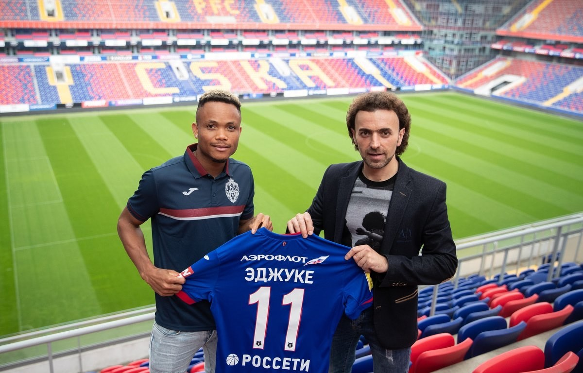 Chidera Ejuke speaks on Ahmed Musa and transfer to CSKA Moscow