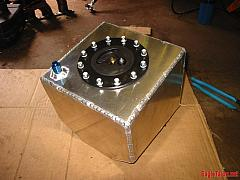 The fuel cell, welded