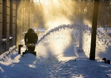 APTOPIX Big Snowstorm_chun