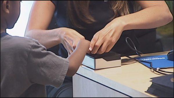New Albany Floyd fingerprint