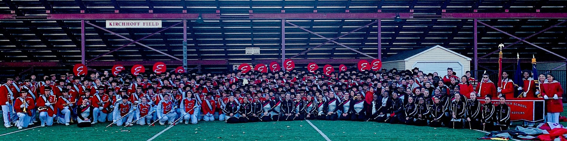 Easton Area High School Marching Band at Fisher Stadium at Lafayette College