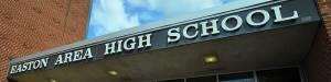 Easton Area High School main entrance