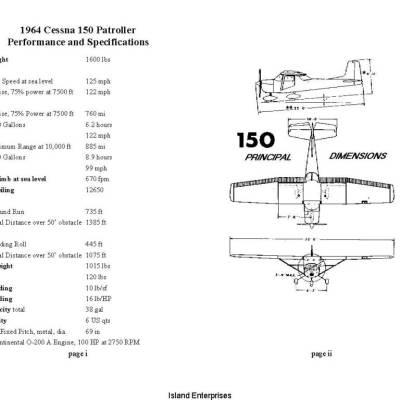 Cessna 150 Series POH Owners Manuals   eAircraftManuals com