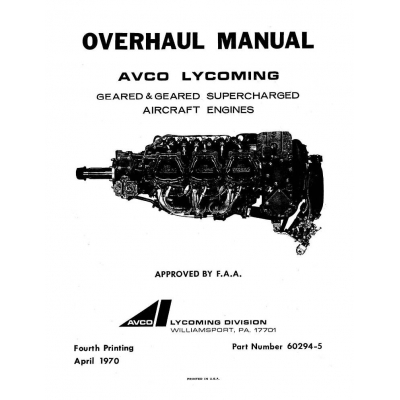 Lycoming overhaul manual 60294 5 4 geared and geared supercharged lycoming overhaul manual 60294 5 4 geared and geared supercharged go 435 go gso igo igso 480540 sciox Gallery