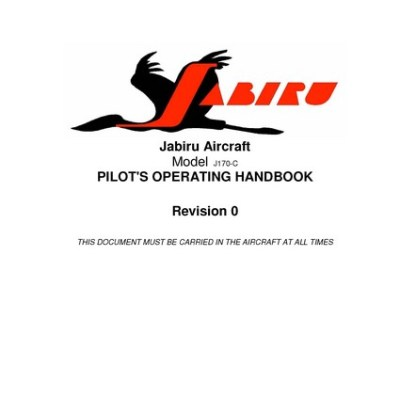Jabiru J 400 owners Manual