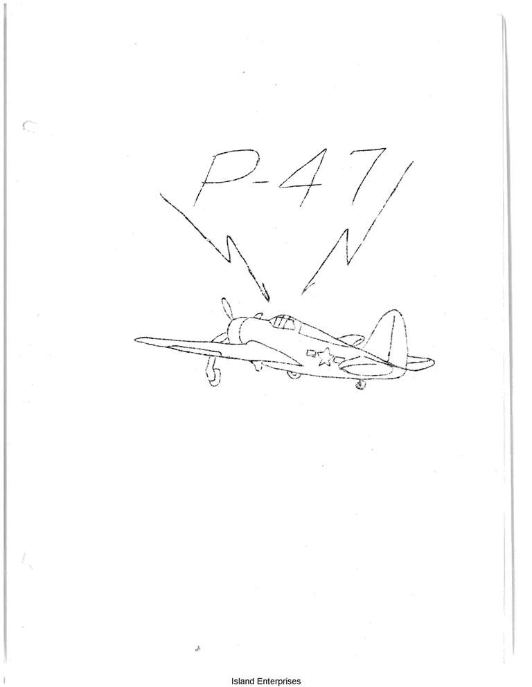 Republic P-47 Flight Manual