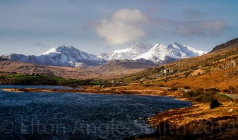 The Snowdon Massif zoomed