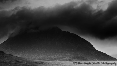 A closer shot of the east face of Tryfan; a little murky though sorry.