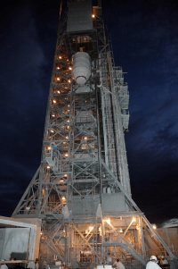 Dawn on the launchpad awaiting the September 26th launch.