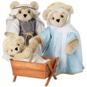 teddy nativity
