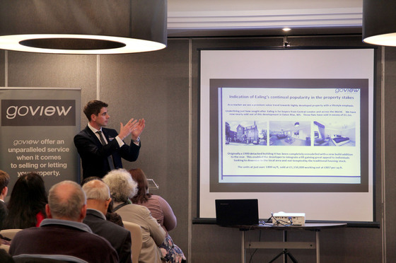 Joint Property Seminar by Go View London and Handelsbanken Ealing.