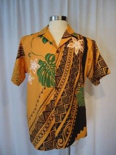 Gold colored Aloha