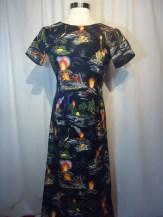 Volcano Hawaiian dress