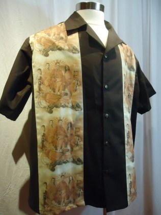 Firefly panel shirt