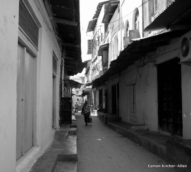 The streets of Stonetown reminded me of Aleppo.
