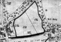This is the area that was leased from Cumberland County Council on the 4th of February 1958 as a playing field for the village.