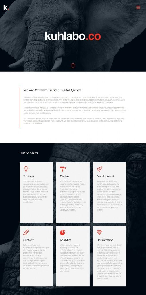 We Are Ottawa's Trusted Digital Agency Kuhlabo