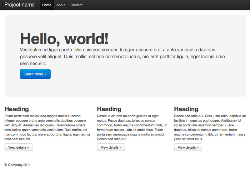 What's wrong with Twitter Bootstrap?