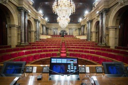 Bancada del Parlament de Catalunya
