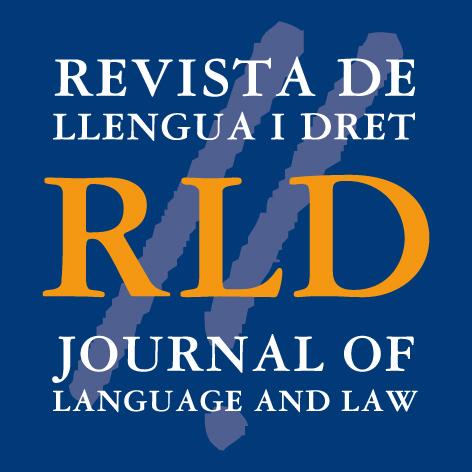 Logotip de la Revista Llengua i Dret