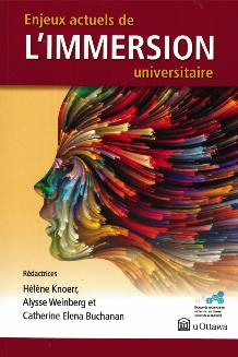 Portada Enjeux actuels de l'immersion universitaire = Current Issues in University Immersion