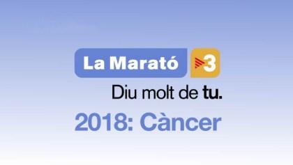 Cartell La Marató de TV3 2018: Càncer