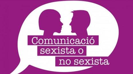 Cartell Comunicació sexista o no sexista