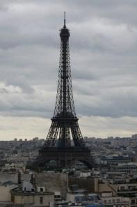 Vue de l'Arc de Triomphe
