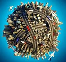 road-globe