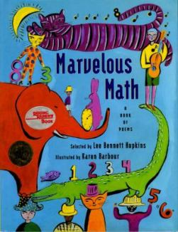 Marvelous Math edited by Lee Bennett Hopkins