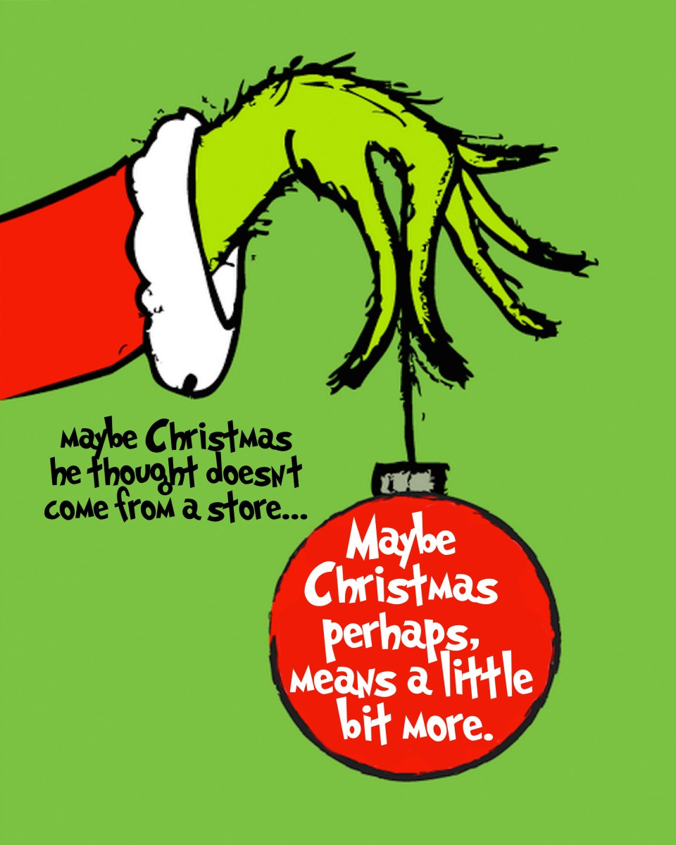 This is an image of Invaluable The Grinch Printable