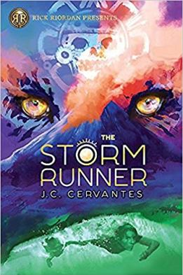 Storm Runner by J.C. Cervantes