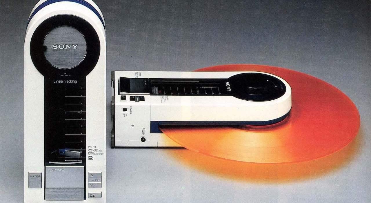Állj! – Sony PS-F5 lemezjátszó