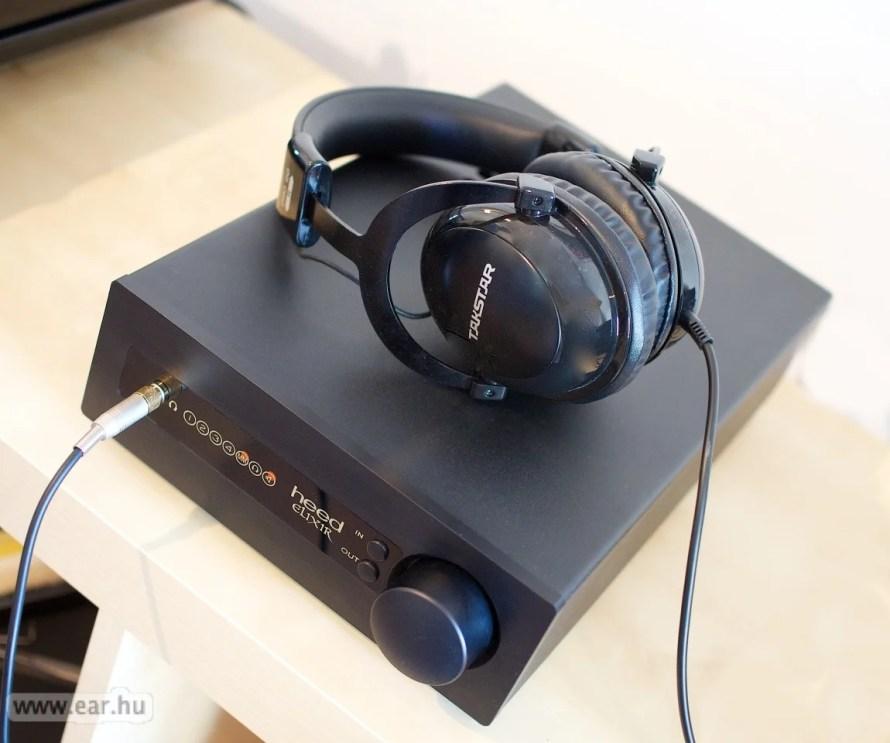 Takstar Pro 80 fejhallgatóval