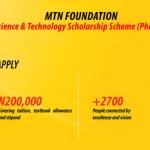 MTN Foundation Scholarships for Undergraduates