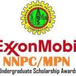 NNPC/Mobil 2019 Undergraduate Scholarships