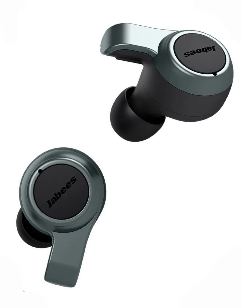 jabees firefly 2 charcoal wireless earbuds