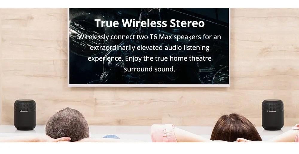 bluetooth speaker tronsmart t6 max review 12