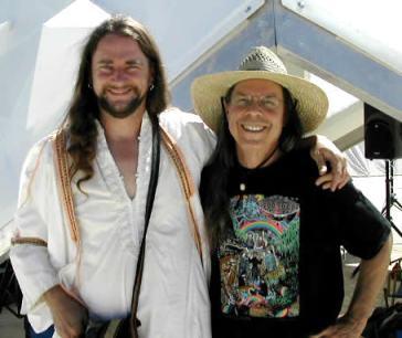 Bruce Damer & Lorenzo Hagerty (l-r)