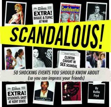 Cover to SCANDALOUS!, by Hallie Fryd