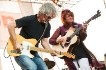 Jon Leventhal and Rosanne Cash